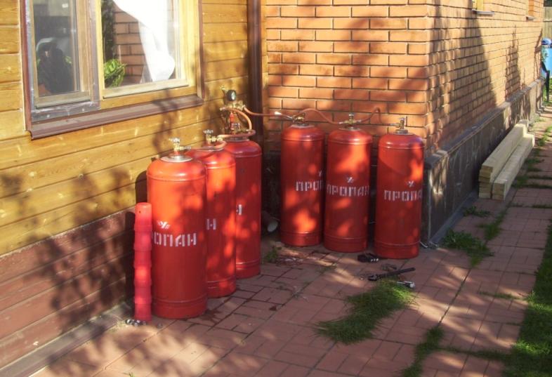 газовые балоны с гелием: