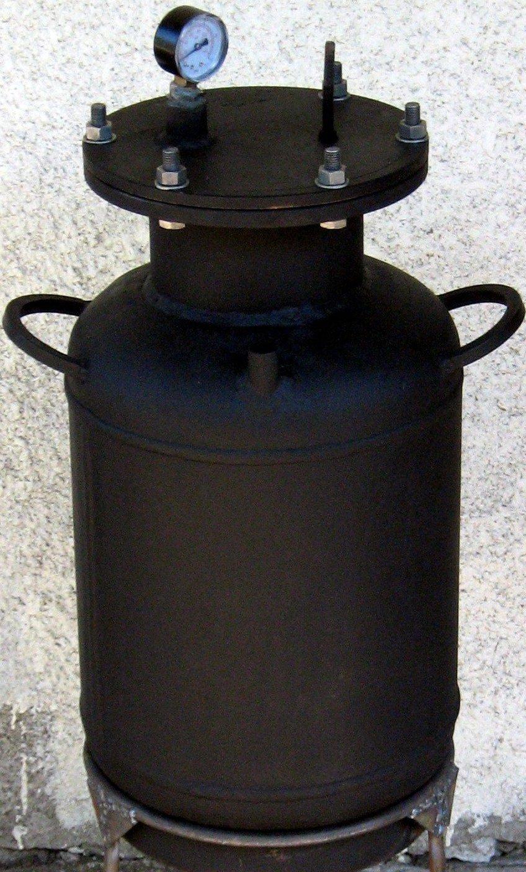 Автоклав из газового баллона своими руками фото