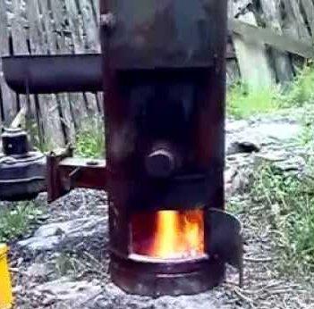 Пиролизный котел из газового баллона своими руками
