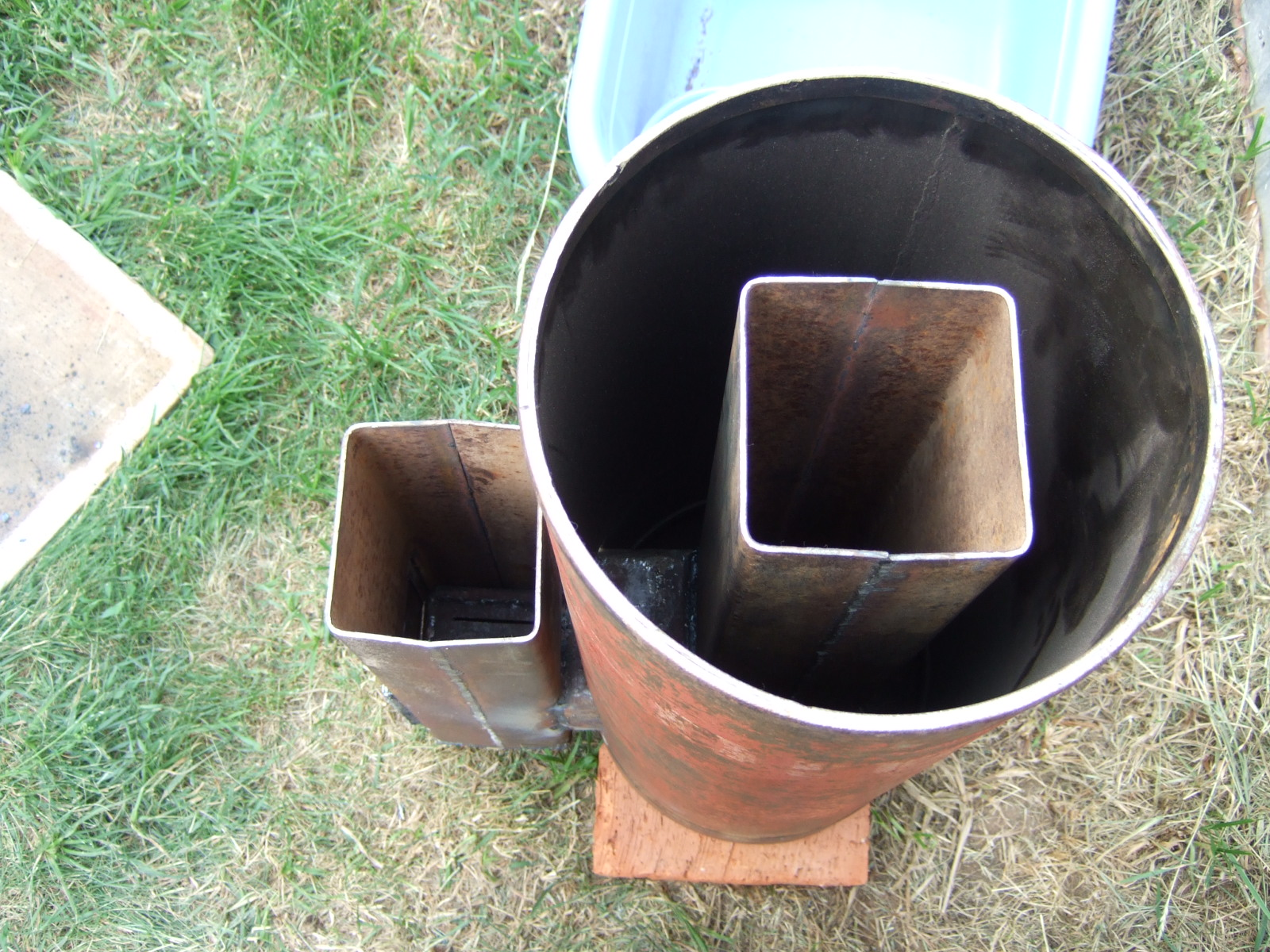 Ракета с топливом своими руками 6