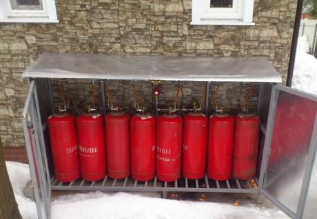Шкаф для газового баллона, ящик для газа купить в Минске на