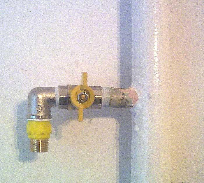 Обрезать газовую трубу в квартире